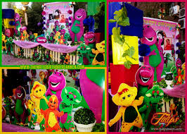 Barney toddler birthday party planner in Lahore Pakistan