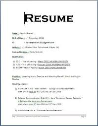 Resume Bio Template Collection Of Solutions Bio Data Resume Sample With Format Sample