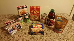 delicious thanks giving dinner for two 10 at the dollar tree