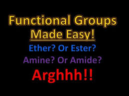 organic chemistry functional groups made easy and memorizable