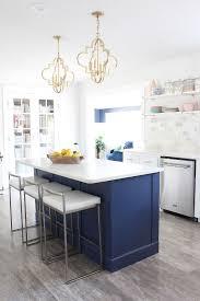 navy blue kitchen island ideas 15 diy kitchen islands unique kitchen island ideas and decor