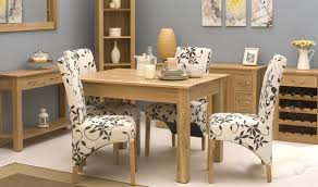 solid oak dining table 4 chairs interior design
