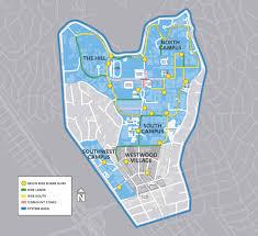 Ucla Interactive Map Bruin Bike Share Map Beagreencommuter