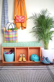 bench ikea bookcase bench recycled old expedit shelf into a