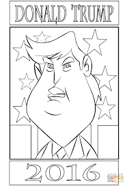 donald trump 2016 coloring page free printable coloring pages