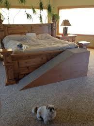 diy dog ramp for high bed clublifeglobal com