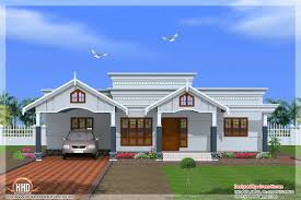 single level floor plans intricate 11 one floor house plans kerala single plan style 4
