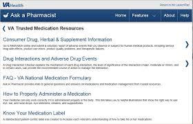 Veterans Affairs Help Desk Ask A Pharmacist Va Mobile