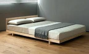 floor level bed ground bed frame amazing low profile platform to the floor frames