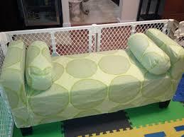 sofa slipcover diy sew an affordable custom marimekko couch slipcover right side
