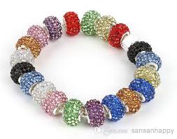 european beads bracelet images Wholesale swarovski crystal bead fit european charm bracelet jpg