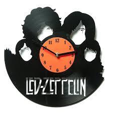 Unique Clocks by Amazon Com Vinyl Wall Clock Led Zeppelin Clock Decoration