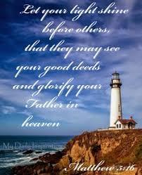 daily inspiration bible verses light shine