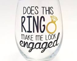 Wedding Gift Glasses 23 Best Engagement Gifts Images On Pinterest Engagement Gifts