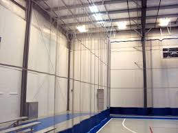 Basketball Curtains Gym Divider Curtains And Nets