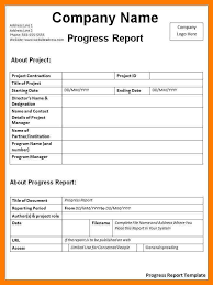 employee daily report template 7 daily progress report format teller resume