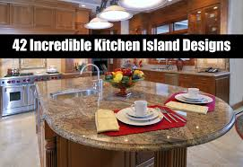 Kitchen Island Designs 42 Incredible Kitchen Island Designs Youtube