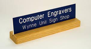 tci graphics signs awards u0026 plastics desk name plates
