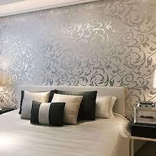 glitter wallpaper perth 3d victorian metallic luxury silver damask glitter wallpaper roll