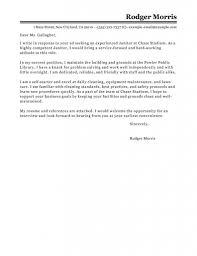 custodian cover letter sample job history resume google search