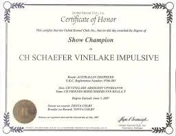 circle c australian shepherds hightide kennel u2022 striker u0027s certificates