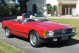 convertible mercedes red sold mercedes benz 380sl convertible auctions lot 5 shannons