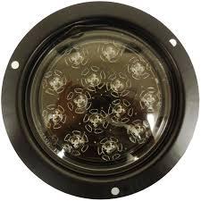 flush mount tail lights amazon com autosmart kl 25105c r red flush mount led stop turn tail