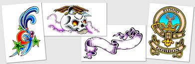designs symbols scripts and scroll tattoos