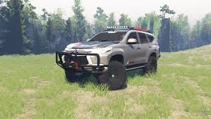pajero sport for spin tires