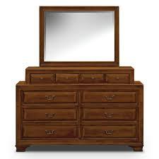Pine Drawers Sanibelle Dresser And Mirror Pine American Signature Furniture