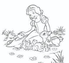 coloring pages snow white u2013 coloring pages