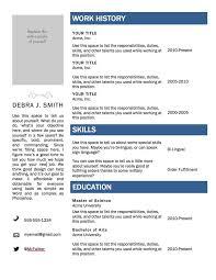 Free Blank Resume Template Download Resume Template Microsoft Word 2007720077