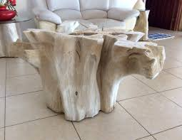 tree trunk coffee table stylish tree stump coffee table try it cole papers design