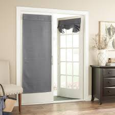 Gray Eclipse Curtains Bryson Thermaweave Blackout Door Curtain