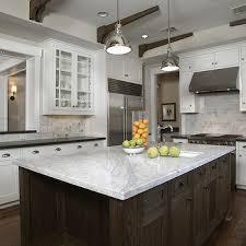 White Kitchen Countertop Ideas Carrara Marble Countertops Design Ideas