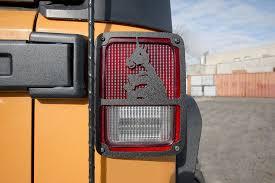 Jeep Jk Tail Light Covers Jeep Jk Taillight Covers 07 Present Jk Jku Handicorn Steel