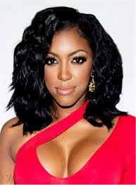 porsha hair product porsha williams loose bob black wave medium length synthetic hair
