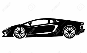 supercar drawing super car royalty free cliparts vectors and stock illustration