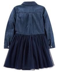 denim and tulle dress oshkosh com