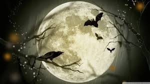 hd halloween wallpapers 1080p halloween moon hd desktop wallpaper widescreen high definition