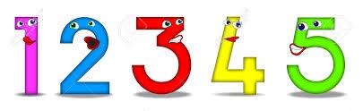 imagenes educativas animadas número de divertidos dibujos animados útiles también para los libros