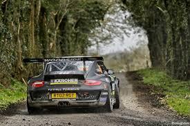 porsche 997 r gt rally car on the 2015 circuit of ireland youtube