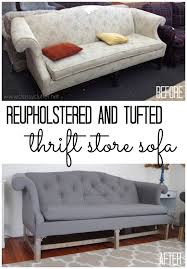 Armchair Upholstery Cost How To Reupholster A Sofa Www Classyclutter Net Diy Home