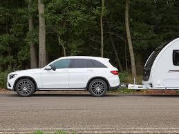 mercedes towing mercedes glc review mercedes tow cars practical caravan
