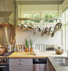 best hanging kitchen rack decor design pot rack ideas home design