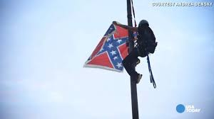 Confderate Flag South Carolina Takes Down Confederate Flag