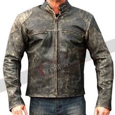 biker jacket sale distressed leather jackets