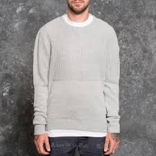 vans sweater vans richmond sweater cement footshop
