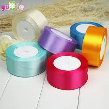 silk satin ribbon silk satin ribbon 40mm 22 meters wedding party festive event
