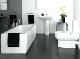 pictures of black and white bathrooms ideas black and white bathroom ideas before after classic black white